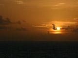 本州最南端潮岬の夕焼け