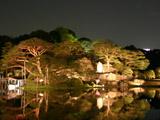 六義園の大名庭園