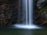 滝のアップ