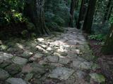 熊野那智大社の石畳