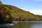 琵琶池の紅葉1