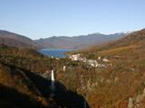 明智平展望台からの華厳の滝