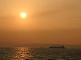 神戸港の夕焼け1