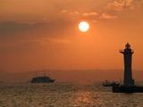 神戸港の夕焼け3