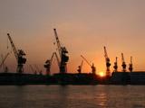 神戸港の夕焼け4