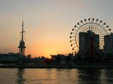神戸港の夕焼け6