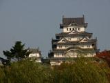 正面からの姫路城