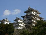 三国濠からの姫路城(ワイド・高画質)