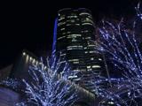 六本木ヒルズと青のイルミネーション2