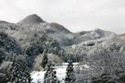 雪山の風景(ワイド・高画質)