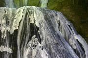 ライトアップの袋田の滝1