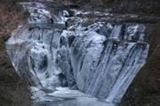 袋田の滝上部の滝