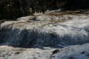 袋田の滝上部の川