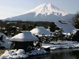 古民家とと富士山3