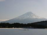 凍結した河口湖3