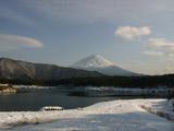 西湖と富士山1