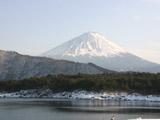 西湖と富士山2