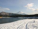 西湖と富士山3